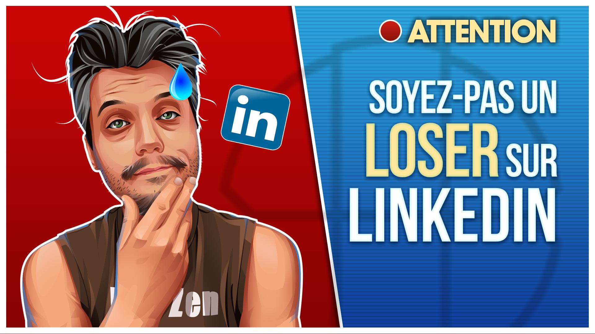 Thumbnail LinkedIn Loser